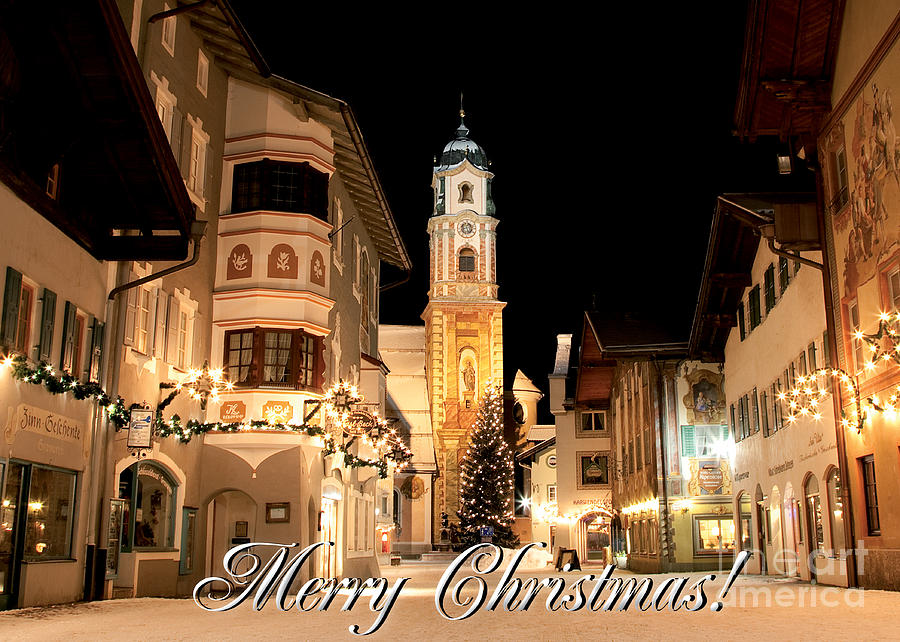 Christmas Photograph - Christmas Card 4 by Fabian Roessler