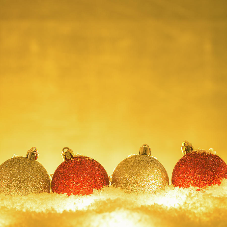 Christmas Decorations Photograph by Deimagine