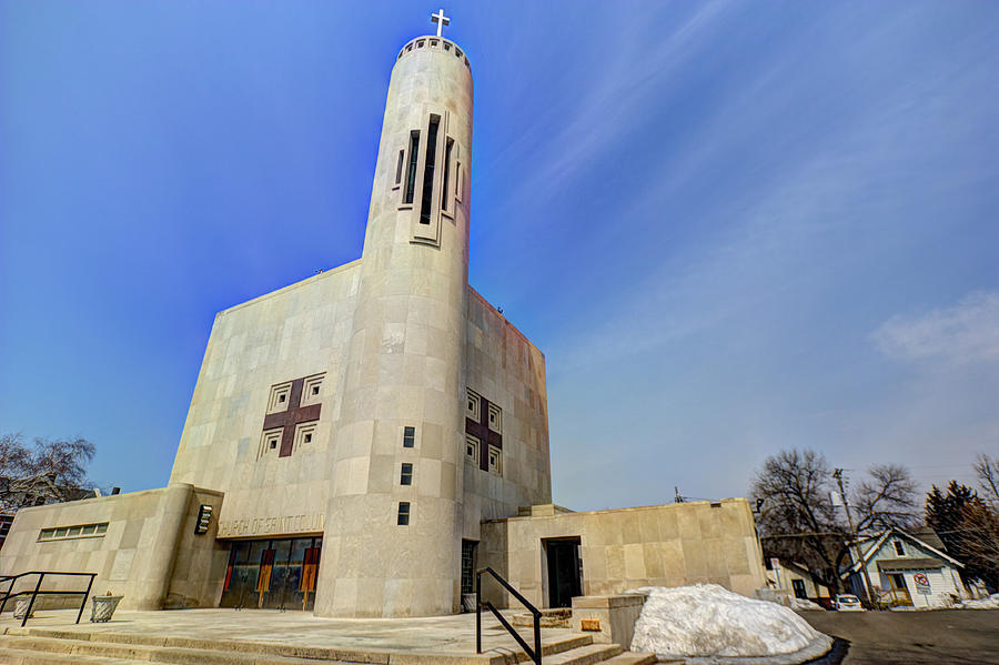 Mn Churches Photograph - Church Of Saint Columba by Amanda Stadther
