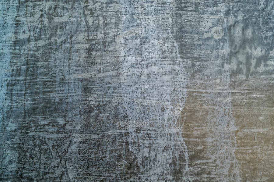 Horizontal Photograph - Close-up Of A Metal Wall Surface by Panoramic Images