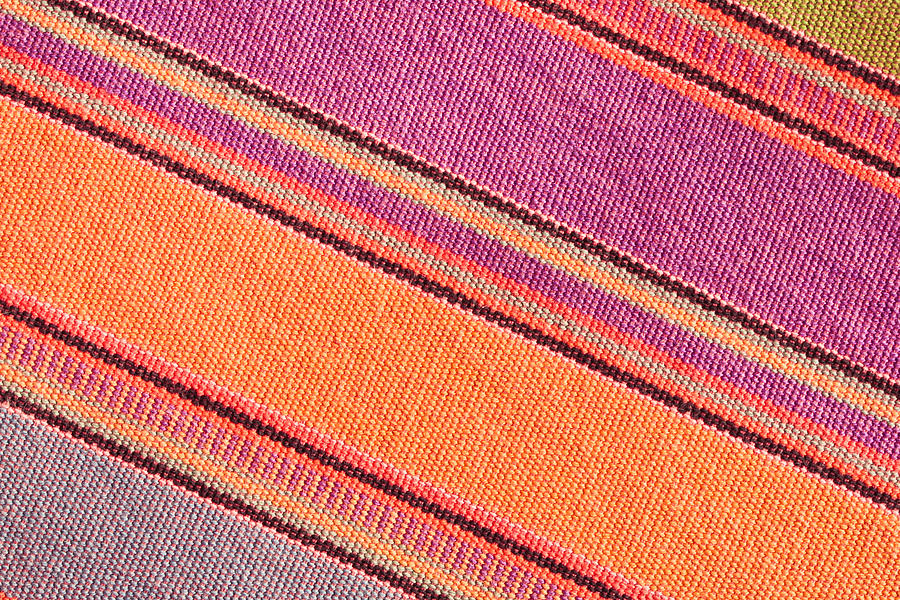 Abstract Photograph - Colorful Cloth by Tom Gowanlock