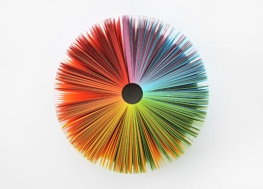 Colorful Paper Photograph by Yagi Studio