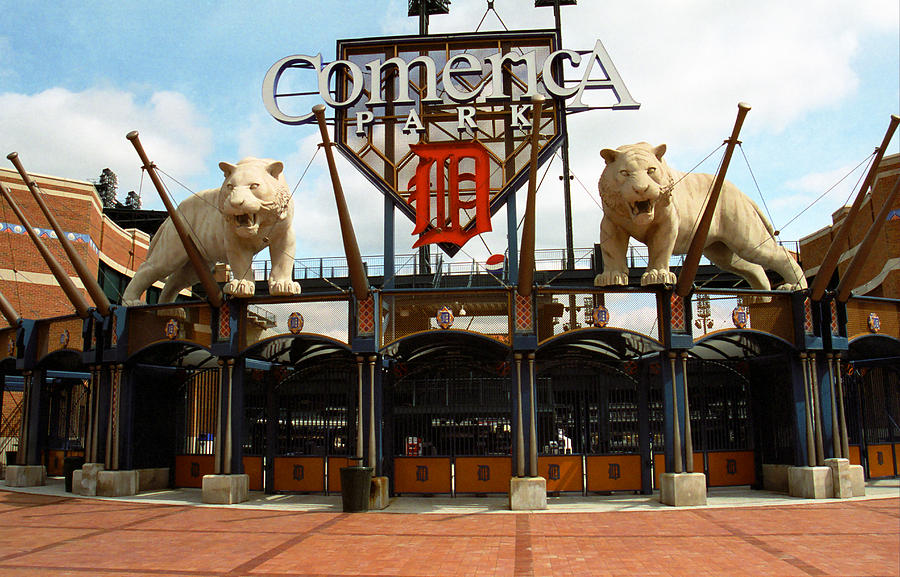 Comerica Park Detroit Tigers Photograph By Frank Romeo