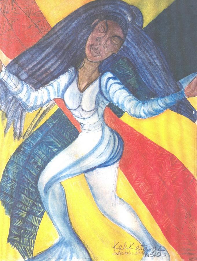 Dancer Painting by Kalikata MBula