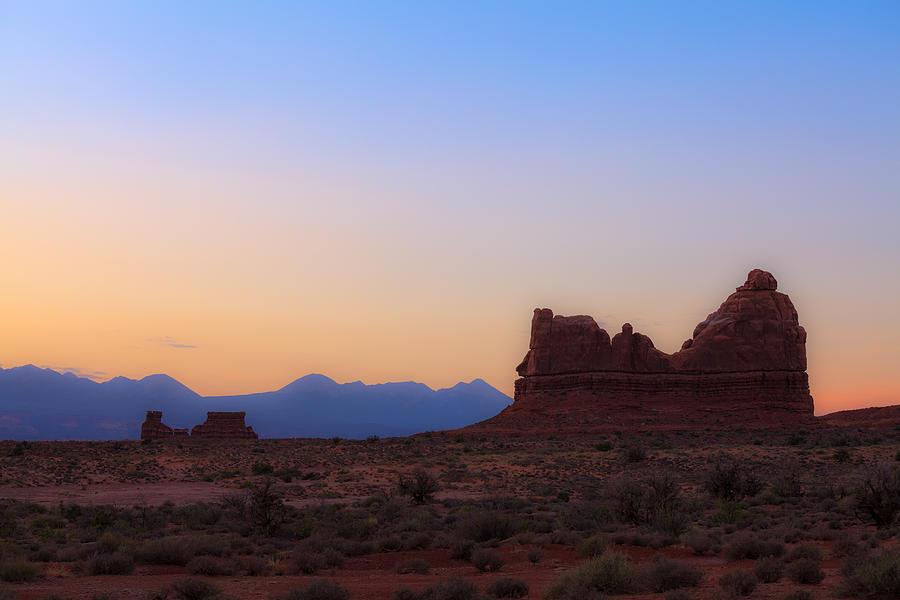 American Photograph - Desert Sunrise by Jonathan Gewirtz