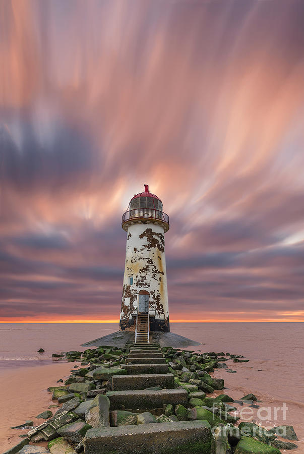 Abandoned Photograph - Deserted Lighthouse by Bahadir Yeniceri