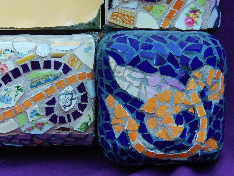 Detail Mosaics Ceramic Art by Charles Lucas