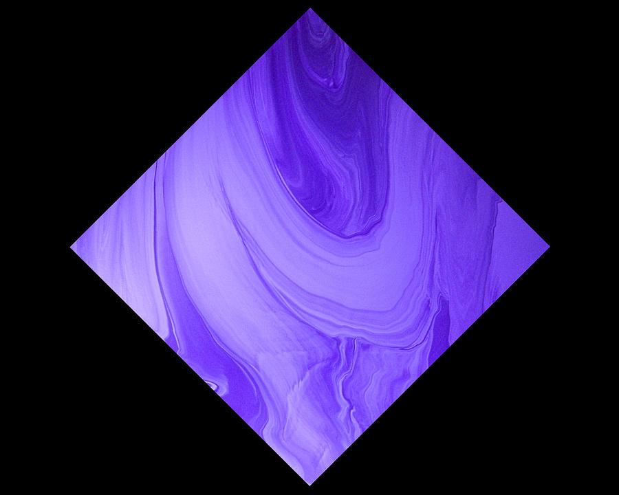 Original Painting - Diamond 129 by J D Owen