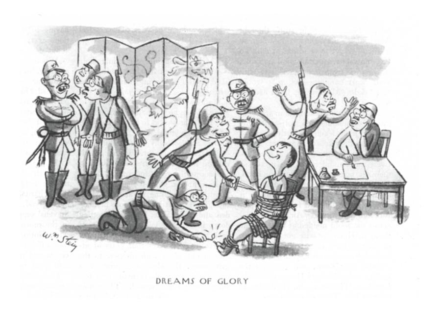 Dreams Of Glory Drawing by William Steig