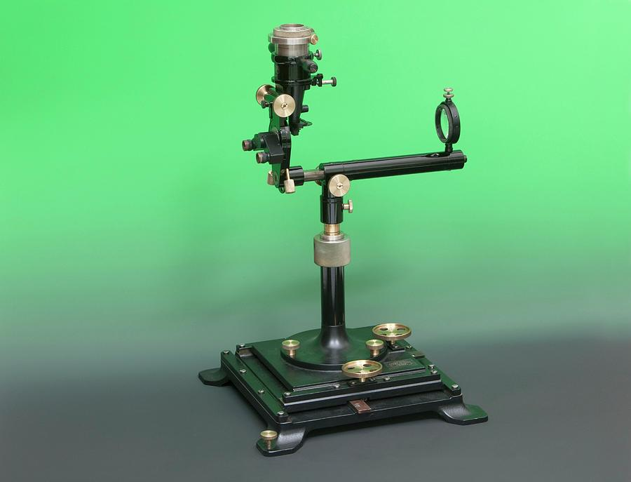 Equipment Photograph - Early 20th Century Ophthalmoscopy Tool by Mark Thomas/science Photo Library