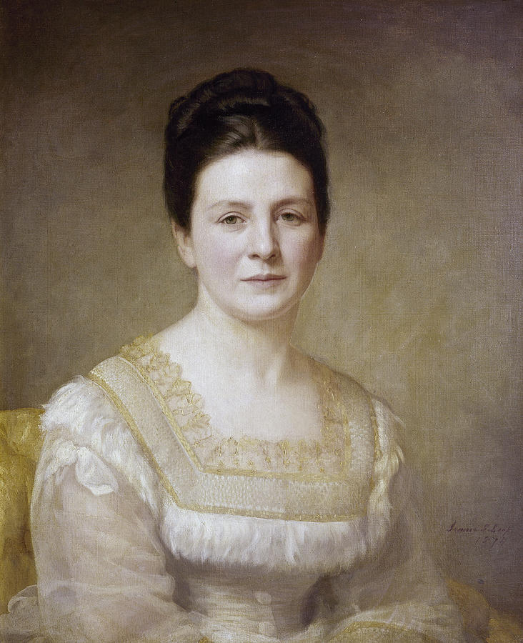 1880 Painting - Edith K by Granger