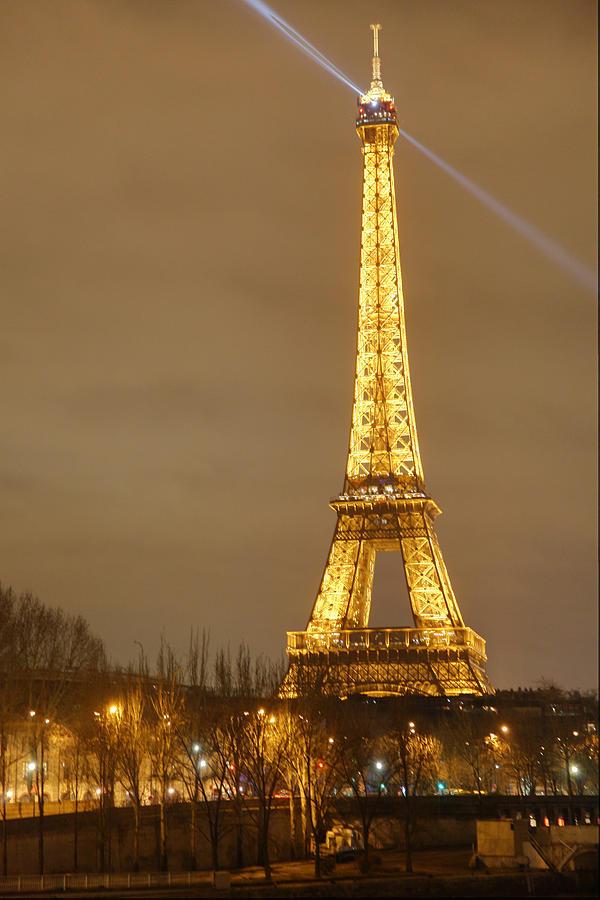 Antique Photograph - Eiffel Tower - Paris France - 011318 by DC Photographer
