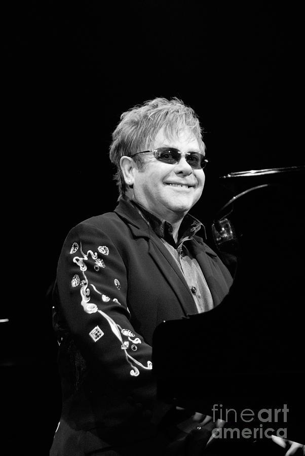 Elton John Photograph - Elton John by Jenny Potter