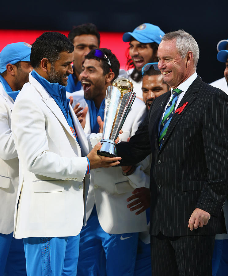 England v India: Final - ICC Champions Trophy Photograph by Michael Steele