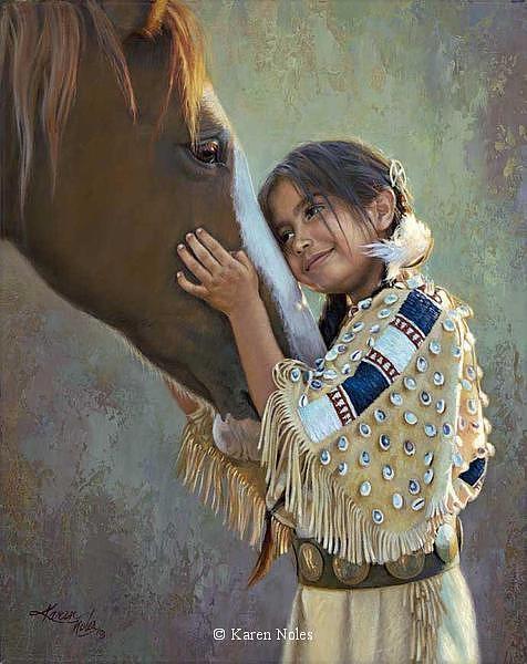 Karen Noles Digital Art - Eyes Of The Heart by Karen Noles