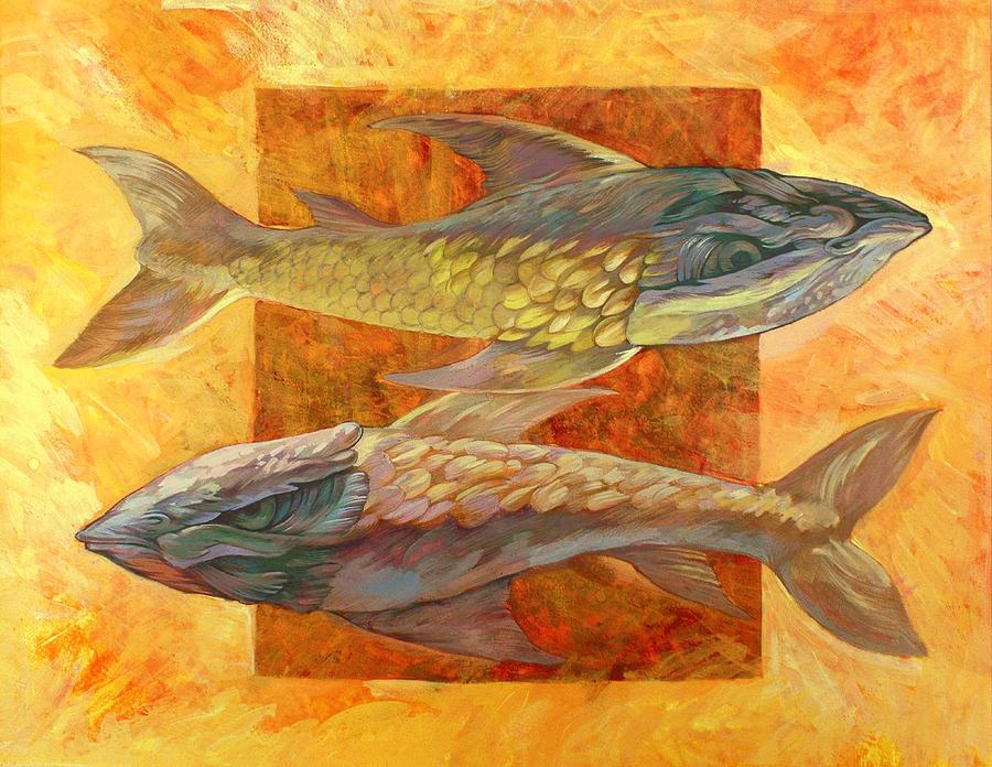 Fish Painting - Fish by Filip Mihail