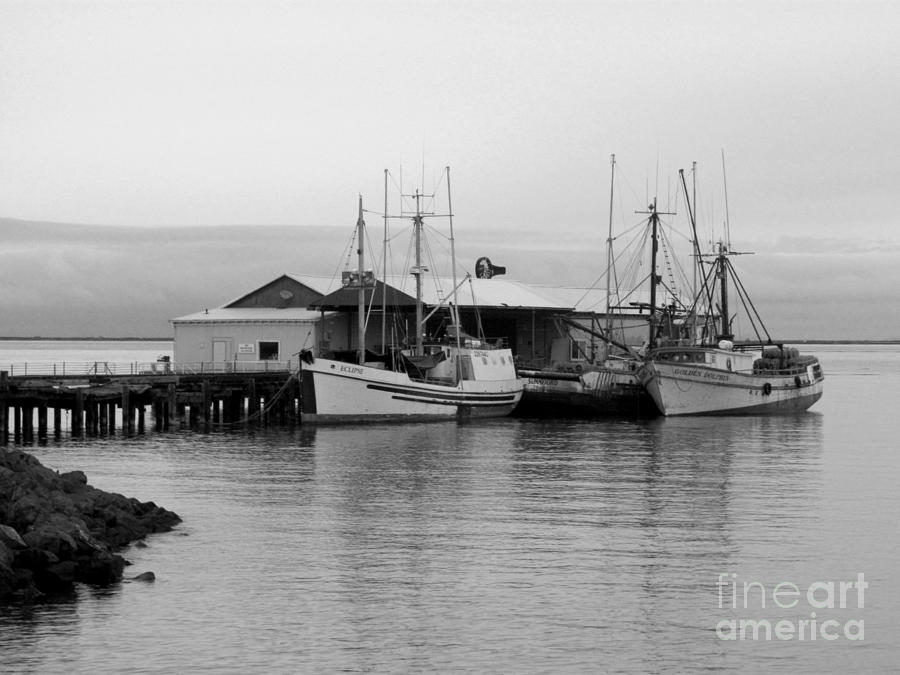 3 FISHING BOATS by Barbara Henry