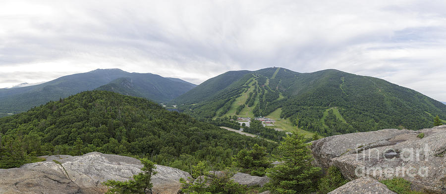 Bald Mountain Photograph - Franconia Notch State Park - White Mountains New Hampshire Usa by Erin Paul Donovan
