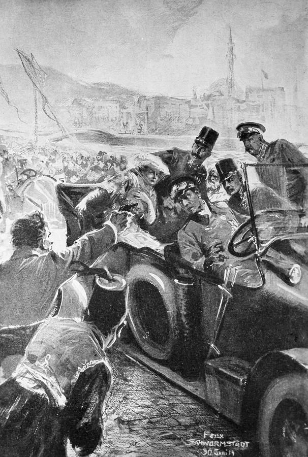 1914 Painting - Franz Ferdinand (1863-1914) by Granger