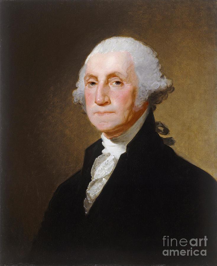 Hero Painting - George Washington by Gilbert Stuart