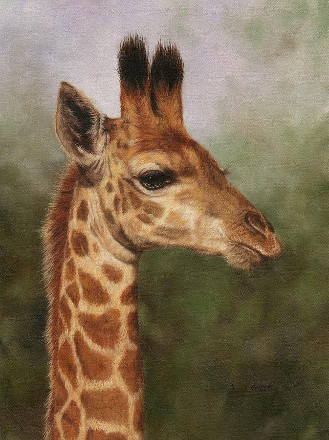 Acrylic Paintings Of Giraffes