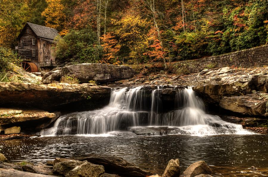 West Virginia Photograph - Glade Creek Mill by Steven Faucette