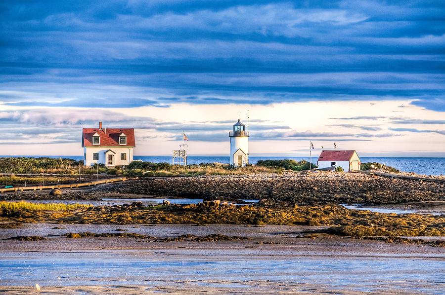 Goat Island Lighthouse, Newport Harbour, Rhode Island, USA  Goat Island Lighthouse