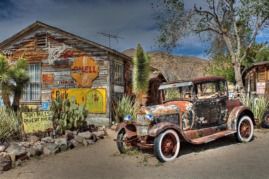 Arizona Photograph - Hackberry General Store On Route 66 by Lynn Jordan