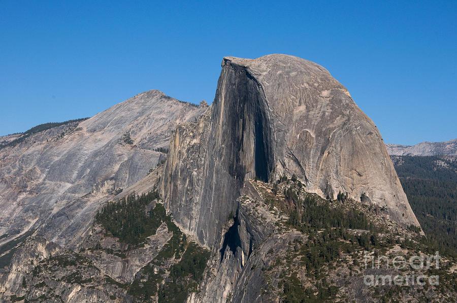 Yosemite Photograph - Half Dome, Yosemite Np by Mark Newman