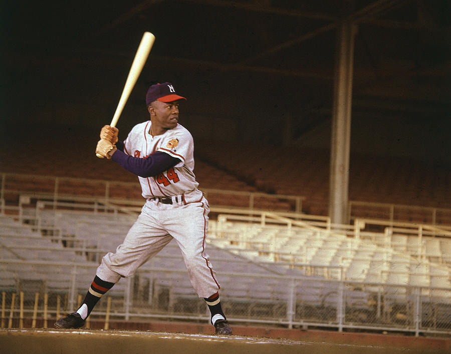 Classic Photograph - Hank Aaron by Retro Images Archive