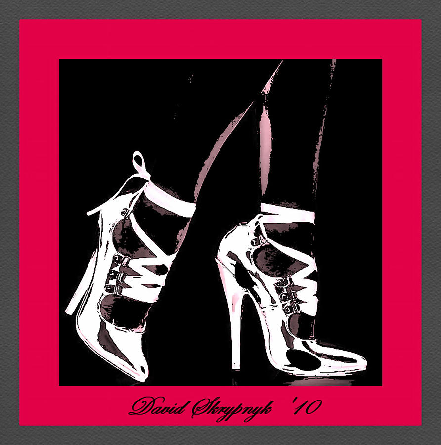 High Heels Digital Art by David Skrypnyk