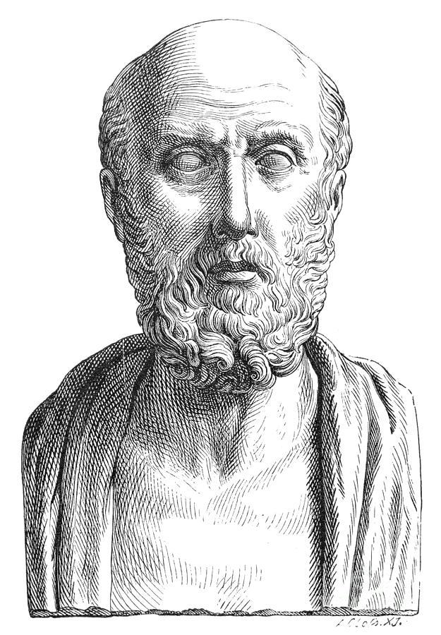 5th Century B.c Photograph - Hippocrates (c460-c377 B.c.) by Granger