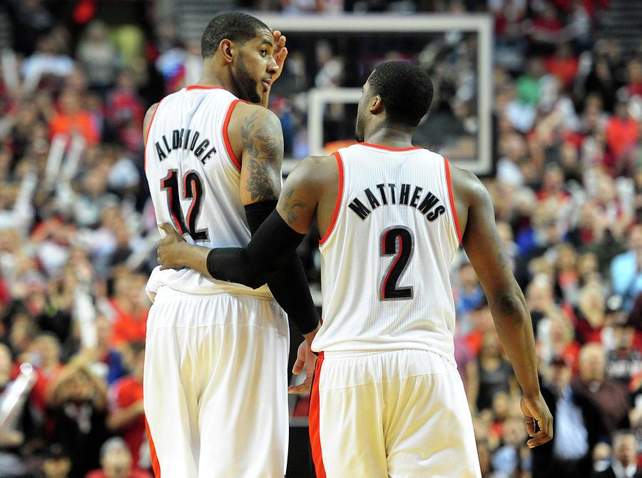 Houston Rockets V Portland Trailblazers Photograph by Steve Dykes