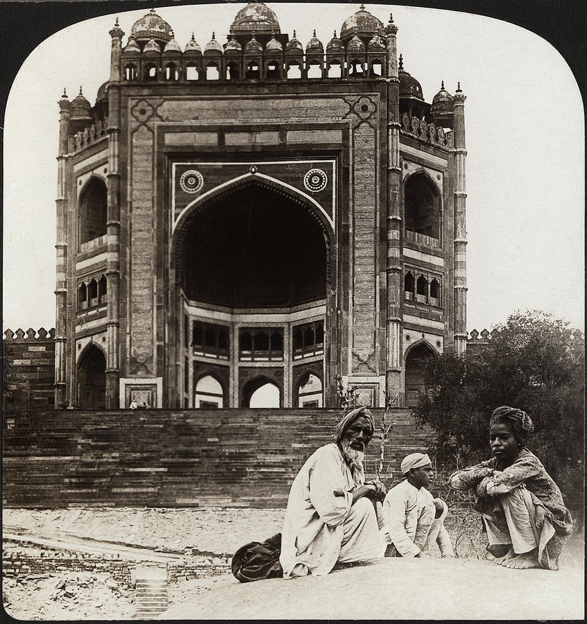 1907 Photograph - India Fatehpur Sikri, C1907 by Granger