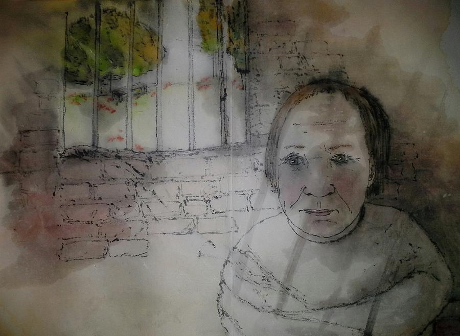 Inside Mental Illness Album Painting by Debbi Saccomanno Chan