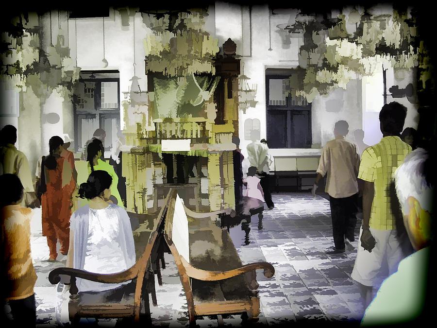 Building Digital Art - Inside The Historic Jewish Synagogue In Cochin by Ashish Agarwal