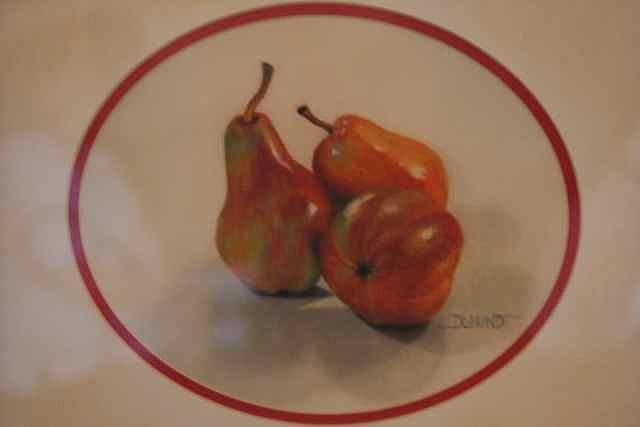 Fruit Painting - 3 Is A Pair by Diana L Hund