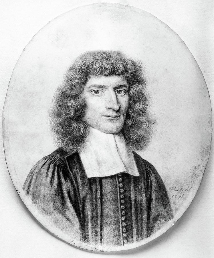 1676 Drawing - Isaac Barrow (1630-1677) by Granger