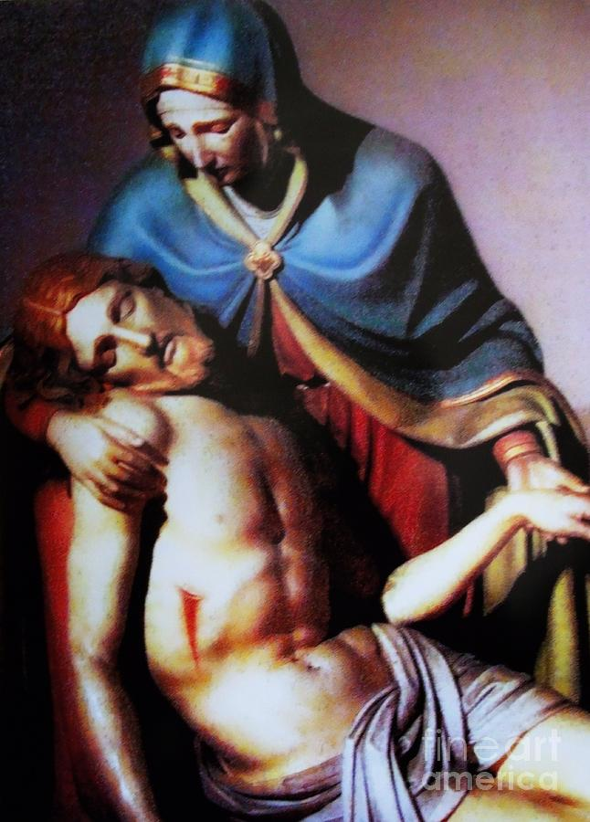 Mary Painting - Jesus And Mary by W  Scott Fenton