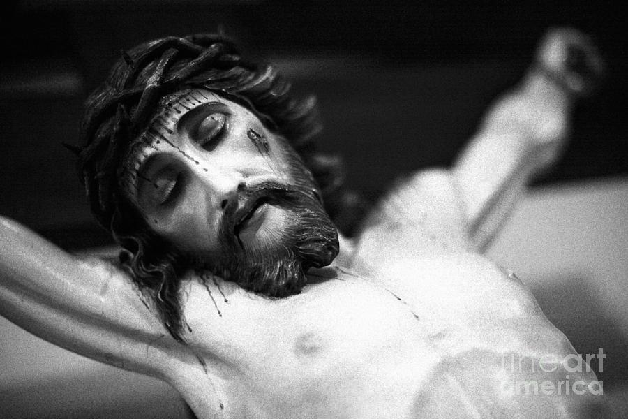 God Photograph - Jesus On The Cross by Gaspar Avila