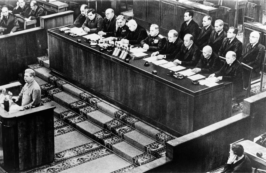 1952 Photograph - Joseph Stalin (1879-1953) by Granger