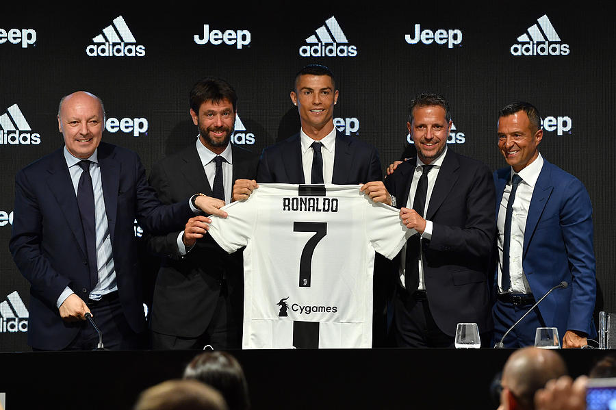 Juventus - Cristiano Ronaldo Day Photograph by Valerio Pennicino - Juventus FC