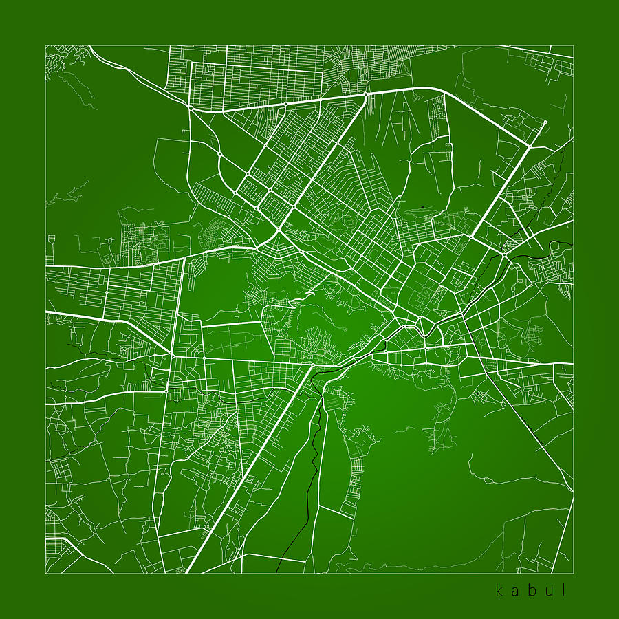 Kabul Street Map - Kabul Afghanistan Road Map Art On Color by Jurq on street map kingston jamaica, street map shanghai china, street map istanbul turkey, street map prague czech republic, street map johannesburg south africa, street map rome italy, street map nairobi kenya, street map montreal canada, street map harare zimbabwe, street map paris france, street map amsterdam netherlands, street map buenos aires argentina, street map berlin germany, street map lima peru, street map dar es salaam tanzania, street map calgary canada, street map bologna italy, street map warsaw poland, street map quito ecuador, street map vienna austria,