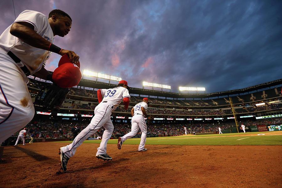 Kansas City Royals V Texas Rangers Photograph by Ronald Martinez