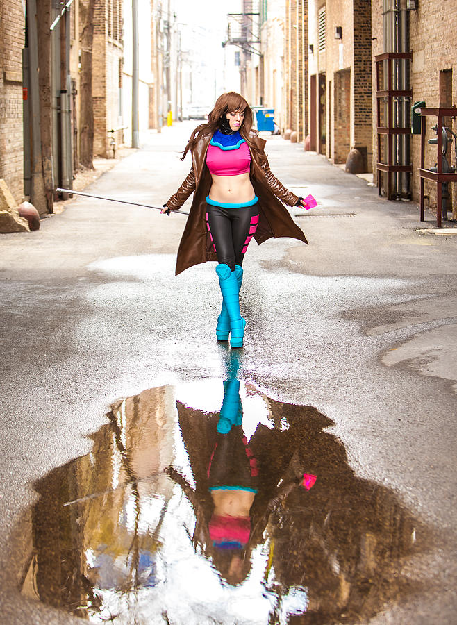 Gambit Photograph - Lady Gambit  by Andreas Schneider