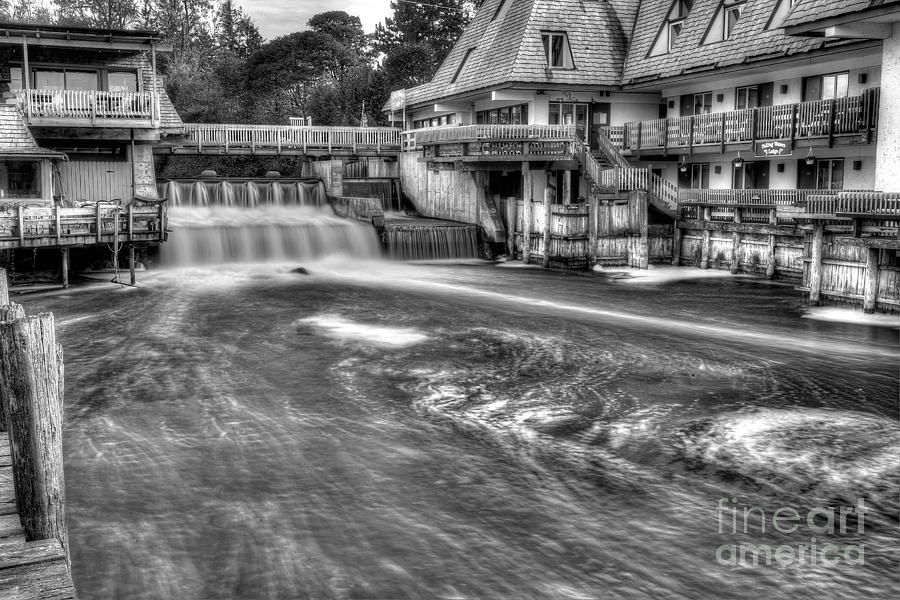 Michigan Photograph - Leland River by Twenty Two North Photography
