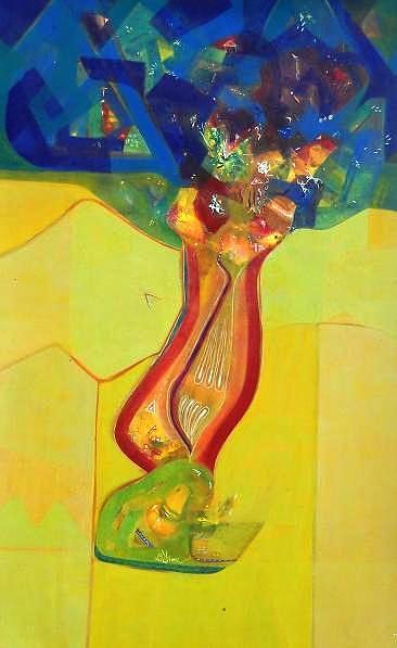 Lord Krishna Painting - Life by Sanjay Punekar