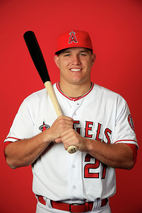 Los Angeles Angels Of Anaheim Photo Day Photograph by Jamie Squire