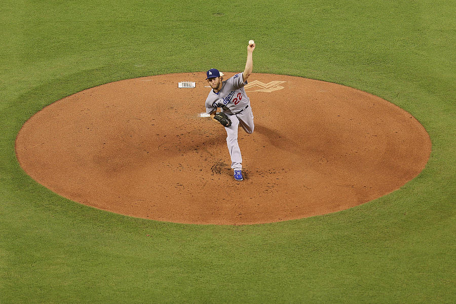 Los Angeles Dodgers V Miami Marlins 3 Photograph by Rob Foldy