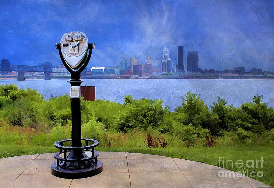 America Photograph - Louisville Kentucky by Darren Fisher